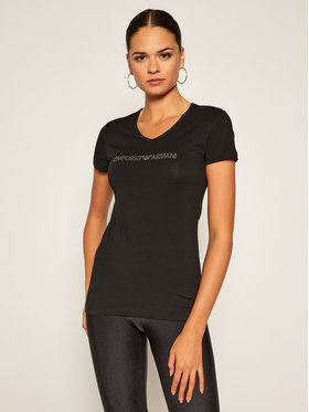 Emporio Armani Underwear Emporio Armani Underwear Póló 163321 0A263 00020 Fekete Slim Fit