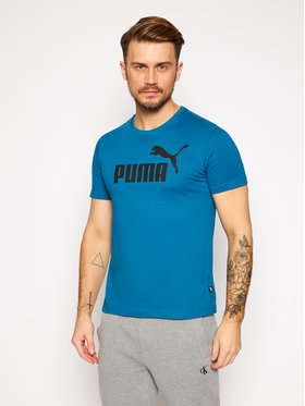 Puma Puma T-Shirt Essentials Tee 853400 Modrá Regular Fit