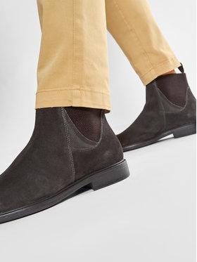 Geox Geox Kotníková obuv s elastickým prvkem U Terence A U047HA 00022 C6372 Hnědá
