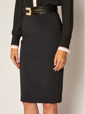 Elisabetta Franchi Elisabetta Franchi Pouzdrová sukně GO-425-06E2-V269 Černá Regular Fit