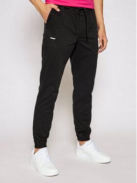 Diamante Wear Diamante Wear Joggers kalhoty Unisex Classic 5441 Černá Regular Fit