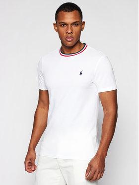 Polo Ralph Lauren Polo Ralph Lauren T-shirt Ssl 710812662006 Blanc Regular Fit