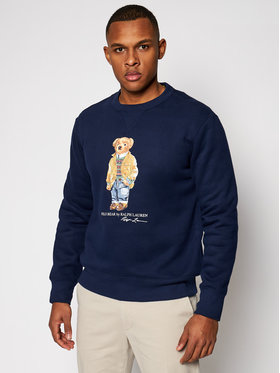 Polo Ralph Lauren Polo Ralph Lauren Pulóver Magic Fleece 710829165001 Sötétkék Regular Fit