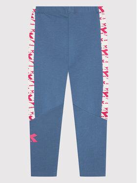 Diadora Diadora Leggings Twinkle 102.177817 Blu Slim Fit