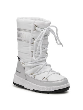 Moon Boot Moon Boot Śniegowce Jr G.Quilted Wp 34051400004 Biały