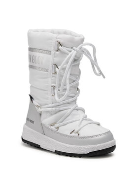 Moon Boot Moon Boot Stivali da neve Jr G.Quilted Wp 34051400004 Bianco