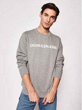Calvin Klein Jeans Calvin Klein Jeans Felpa J30J307757 Grigio Regular Fit