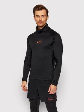 EA7 Emporio Armani EA7 Emporio Armani Techniniai marškinėliai 6KPT18 PJBSZ 1200 Juoda Regular Fit