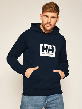 Helly Hansen Helly Hansen Mikina Box 53289 Tmavomodrá Regular Fit