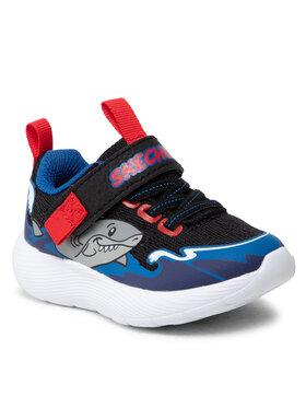 Skechers Skechers Sneakersy Shark Wave 407233N/BKBL Czarny