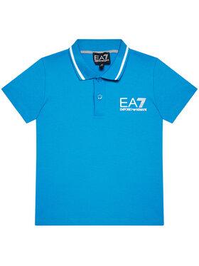EA7 Emporio Armani EA7 Emporio Armani Polohemd 3KBF51 BJ02Z 1523 Blau Regular Fit