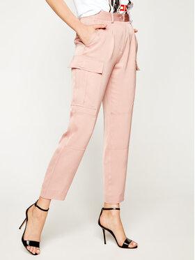 Calvin Klein Calvin Klein Szövet nadrág Soft Cargo K20K201768 Rózsaszín Regular Fit
