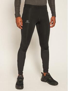 Salomon Salomon Leggings Agile Warm Tight L40360300 Noir Slim Fit