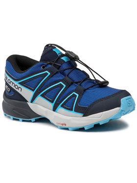 Salomon Salomon Trekingová obuv Speedcross Cswp J 411251 09 M0 Tmavomodrá
