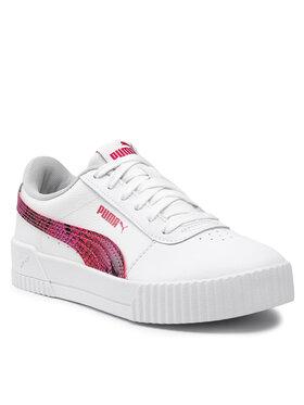Puma Puma Sneakers Carina L Snake Fs 382384 01 Bianco