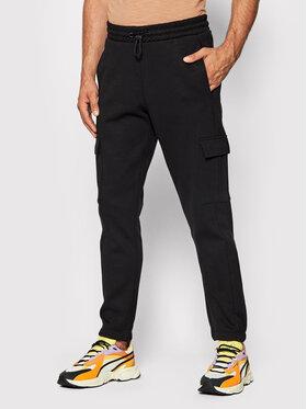 Outhorn Outhorn Teplákové nohavice SPMD602 Čierna Regular Fit