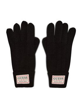 Guess Guess Férfi kesztyű Not Coordinated Gloves AM8730 WOL02 Fekete