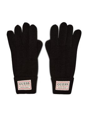 Guess Guess Pánské rukavice Not Coordinated Gloves AM8730 WOL02 Černá