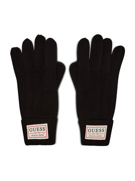 Guess Guess Pánske rukavice Not Coordinated Gloves AM8730 WOL02 Čierna