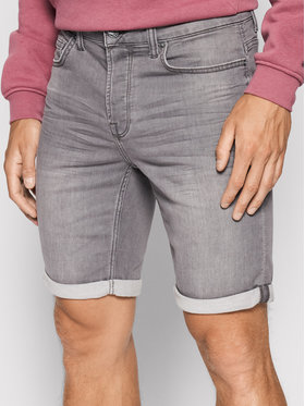 Only & Sons ONLY & SONS Jeansshorts Ply 22018583 Grau Regular Fit