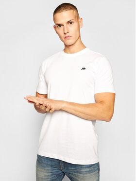 Kappa Kappa T-Shirt Hauke 308010 Weiß Regular Fit