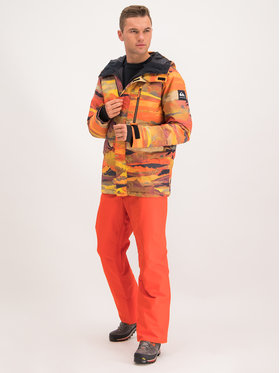 Quiksilver Snowboardové nohavice EQYTP03116 Oranžová Modern Fit