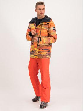 Quiksilver Quiksilver Spodnie snowboardowe EQYTP03116 Pomarańczowy Modern Fit