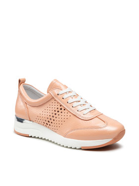Caprice Caprice Sneakersy 9-23500-26 Pomarańczowy