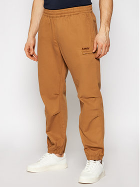 Levi's® Levi's® Jogger kelnės Marine A0127-0000 Ruda Regular Fit