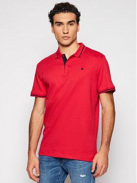 Jack&Jones Jack&Jones Tricou polo Jersey 12180891 Roșu Regular Fit