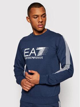 EA7 Emporio Armani EA7 Emporio Armani Sweatshirt 3KPM67 PJ05Z 1554 Bleu marine Regular Fit
