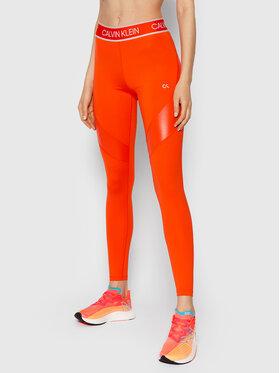 Calvin Klein Performance Calvin Klein Performance Leggings 00GWT1L663 Arancione Slim Fit