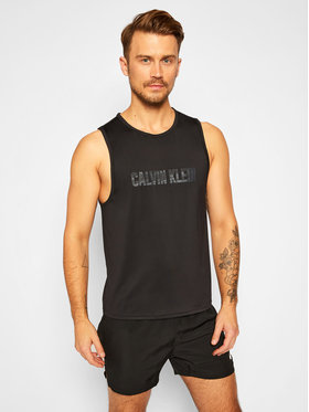 Calvin Klein Performance Calvin Klein Performance Tank top 00GMF0K176 Czarny Regular Fit
