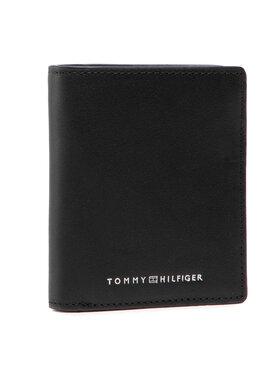 Tommy Hilfiger Tommy Hilfiger Didelė Vyriška Piniginė Th Metro N/S Trifold AM0AM07413 Juoda