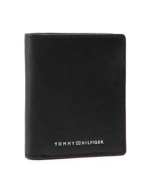 Tommy Hilfiger Tommy Hilfiger Portafoglio grande da uomo Th Metro N/S Trifold AM0AM07413 Nero