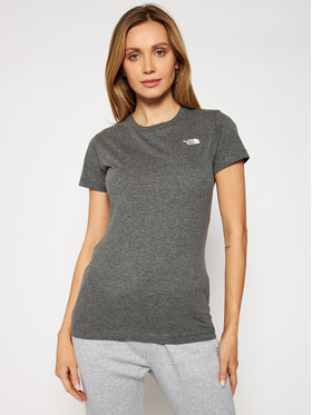 The North Face The North Face T-shirt Graphic NF0A4T1CDYY1 Grigio Regular Fit