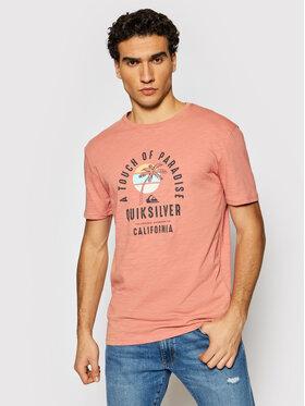 Quiksilver Quiksilver T-Shirt Quiet Hour EQYZT06387 Růžová Regular Fit