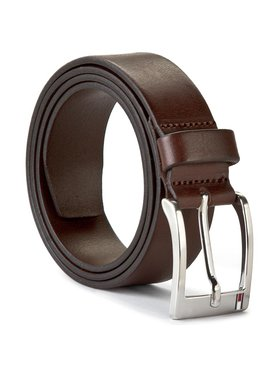 Tommy Hilfiger Tommy Hilfiger Pánský pásek New Aly Belt E367895011 90 Hnědá