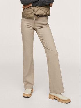 Mango Mango Pantaloni din material Catalina 17074393 Bej Regular Fit