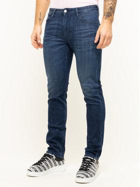 Emporio Armani Emporio Armani Slim Fit Jeans 3H1J06 1D9SZ F977 Dunkelblau Slim Fit
