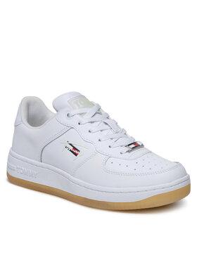 Tommy Jeans Tommy Jeans Sneakersy Glow In The Dark Basket EN0EN01515 Biały