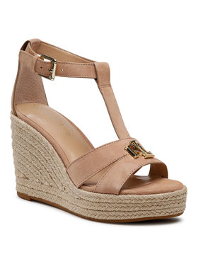 Lauren Ralph Lauren Lauren Ralph Lauren Espadryle Hale 802828010001 Beżowy