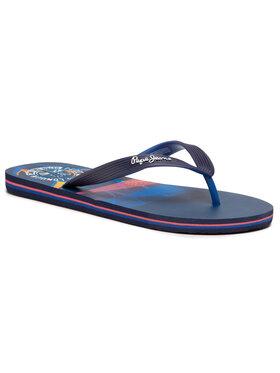 Pepe Jeans Pepe Jeans Žabky Hawi Surf PMS70100 Tmavomodrá