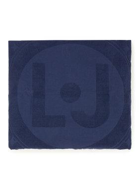 Liu Jo Liu Jo Ręcznik Telo Jacquard V19110 T9891 Granatowy