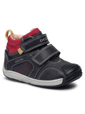 Geox Geox Auliniai batai B Toledo B. B. B9446B 0AF85 C4075 Tamsiai mėlyna