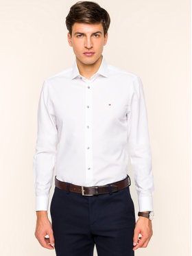 Tommy Hilfiger Tailored Tommy Hilfiger Tailored Cămașă Classic TT0TT05991 Alb Slim Fit