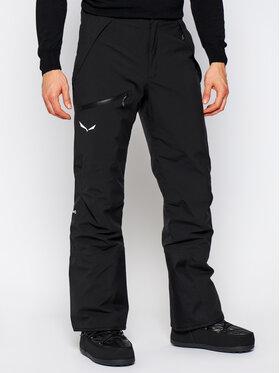 Salewa Salewa Lyžařské kalhoty Antelao Beltovo 28251 Černá Regular Fit