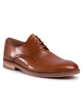 Clarks Clarks Pantofi Oliver Lace 261478007 Maro