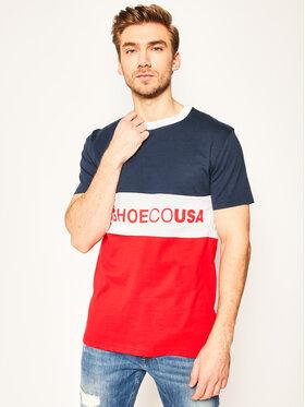 DC DC T-Shirt Glenferrie EDYKT03493 Kolorowy Regular Fit