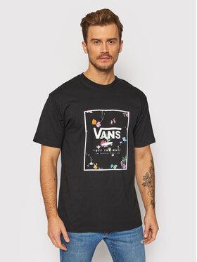 Vans Vans T-Shirt Classic Print Box VN0A5E7 Czarny Classic Fit